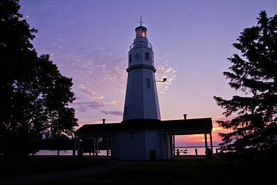 Photograph - Neenah Light by Joel Witmeyer