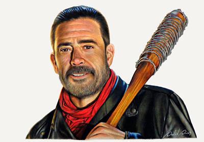 Negan - The Walking Dead Original by David Dias