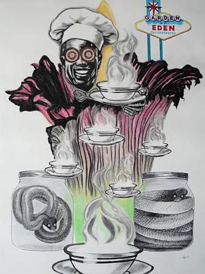 Negative Genesis Art Print by Mag Nus