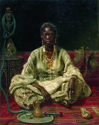 Painting - Negress by Ilya Repin