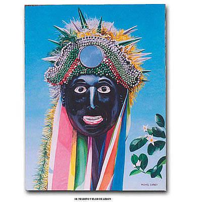 Painting - Negrito Y Flor De Limon by Michael Earney
