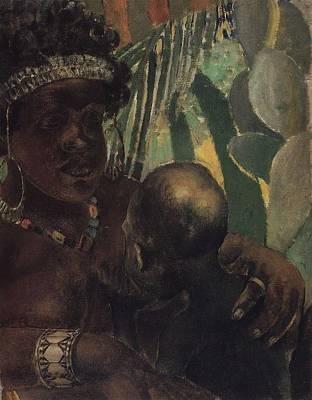 Painting - Negro by Kuzma Petrov-Vodkin