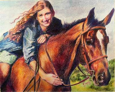 Painting - Neigh Sayers by Mary Knape