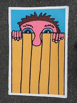 Painting - Neighbor by Matthew Brzostoski