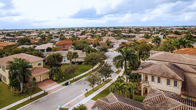 Photograph - Neighborhood Aerial by Jody Lane