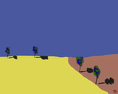 Digital Art - Neighboring Field by Bruce