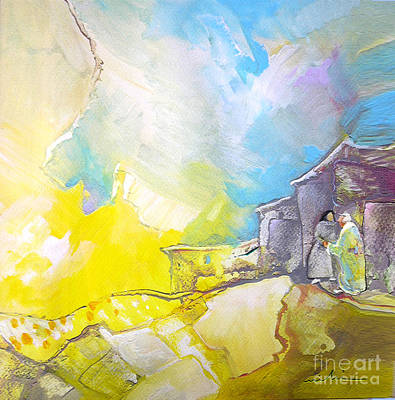 Neighbouring Painting - Neighbours by Miki De Goodaboom