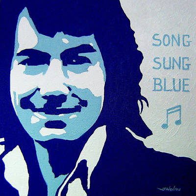 Neil Painting - Neil Diamond by John  Nolan