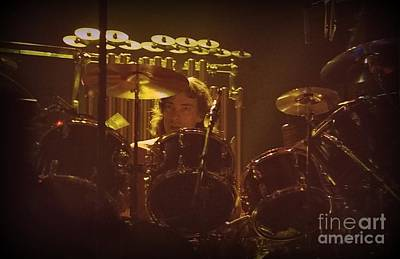 Photograph - Neil Peart 1 by Kevin Bohner