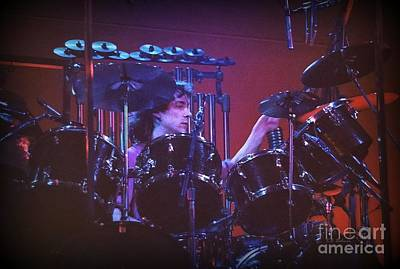 Photograph - Neil Peart 2 by Kevin Bohner
