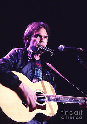 Neil Young Photograph - Neil Young 1986 #3 by Chris Walter