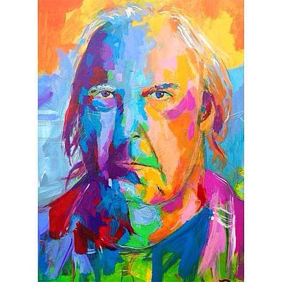 Neil Young Drawing - Neil Young  by Dominic Mattioli