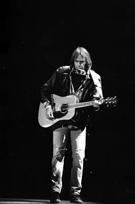 Neil Young Photograph - Neil Young by Wayne Doyle
