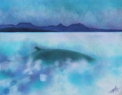 Painting - Nereid IIi by Robin Street-Morris