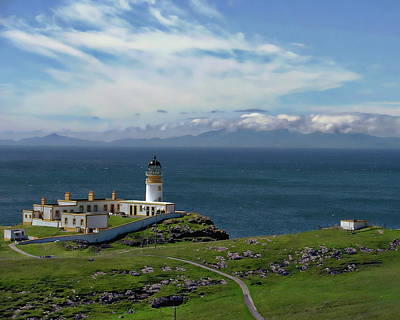 Photograph - Neist Point Lighthouse by Anthony Dezenzio