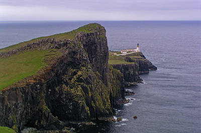 Photograph - Neist Point Lighthouse by Bruce