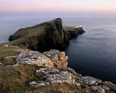 Photograph - Neist Point Lighthouse, Isle Of Skye, Scotland by David Stanley