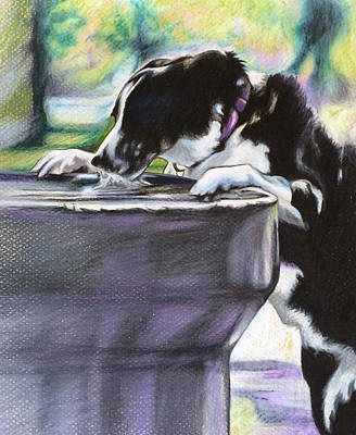 Nellie Art Print by Carol Meckling
