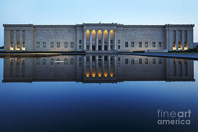 Photograph - Nelson-atkins Museum Of Art At Dusk by Dennis Hedberg