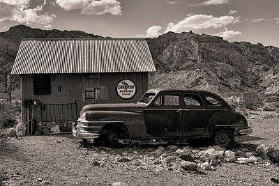 Photograph - Nelson Chrysler Bw by Kristia Adams