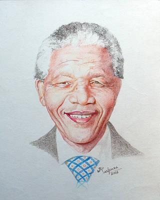 Nelson Mandela Original by Jayantilal Ranpara