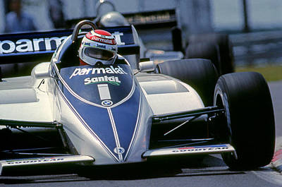 Canadian Grand Prix Photograph - Nelson Wins 82 Canadian Gp by Mike Flynn
