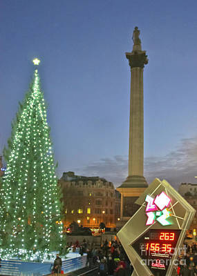 Lord Admiral Nelson Photograph - Nelson's Christmas Tree by Terri Waters