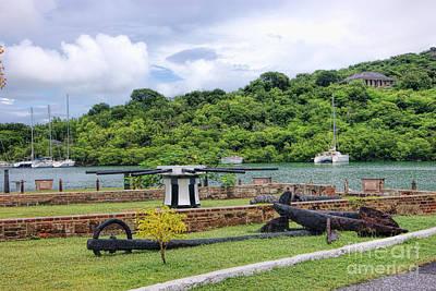 Landscape Photograph - Nelson's Dockyard National Park Antigua by Olga Hamilton
