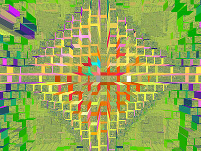 Digital Art - Nemesis 19 by Lynda Lehmann