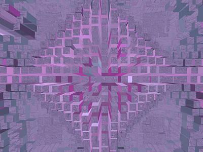 Digital Art - Nemesis 21 by Lynda Lehmann