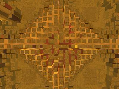 Digital Art - Nemesis 23 by Lynda Lehmann