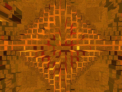 Digital Art - Nemesis 24 by Lynda Lehmann