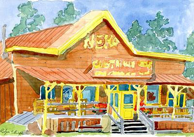 Painting - Nemo Ranch Store by Rodger Ellingson