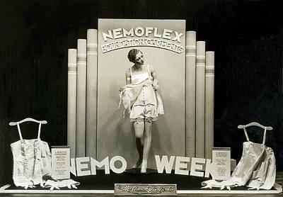 Photograph - Nemoflex Foundation Garments by Underwood Archives