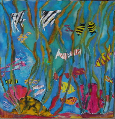 Underwater View Mixed Media - Nemo's Friends by Klaire Mar
