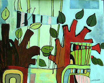 Subterranean Painting - Nemus by Lory MacDonald
