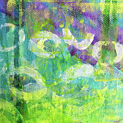 Painting - Nenuphars   by Shelley Graham Turner