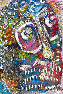 Neo-expressionism Mixed Media - Neo Ain't Dead by Jade Knights