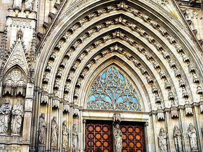 Photograph - Neo-gothic Facade by John Rizzuto