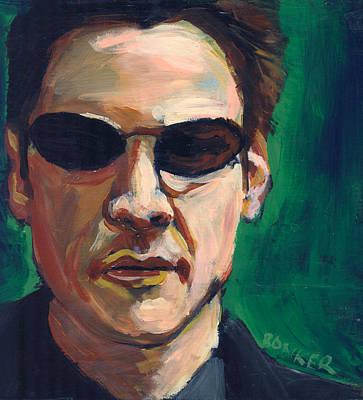 Matrix Painting - Neo by Buffalo Bonker
