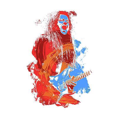 Neoclassical Guitarist Art Print by Andrea Mazzocchetti