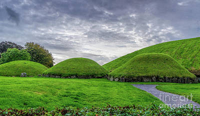 Photograph - Neolithic Mounds by Elvis Vaughn