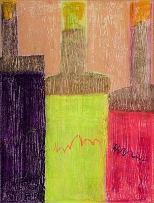 Neon Bottles #1 Original