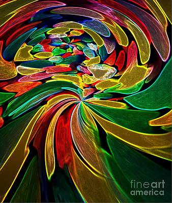 Digital Art - Neon Bright by Gayle Price Thomas