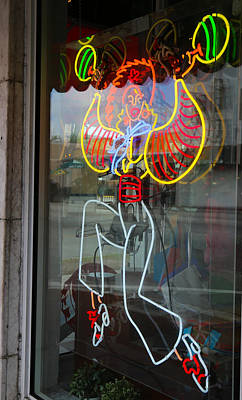 Photograph - Neon by Dart and Suze Humeston