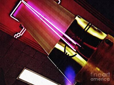 Photograph - Neon Design by Sarah Loft