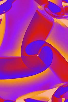 Digital Art - Neon Illuminations by Joan Reese