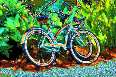 Huisken Digital Art - Neon by Lyle  Huisken