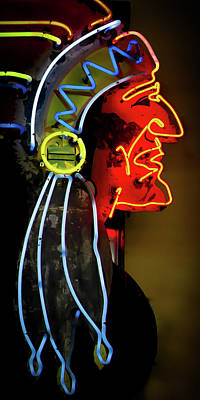 Photograph - Neon Navajo by David Patterson