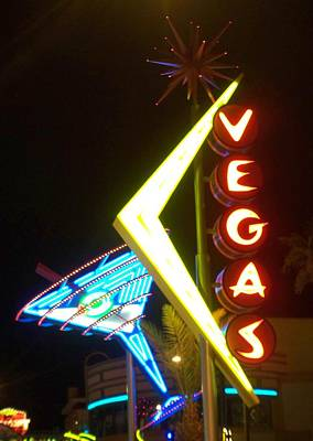 Martini Royalty-Free and Rights-Managed Images - Neon Signs 3 by Anita Burgermeister